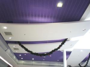 Centre commercial Carrefour à Vitrolles (13), Voiles décoratives cintrées en stratistaff