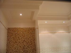 Caisson de plafon pour salle de bain, Hôtel Princesse Flore de Royat