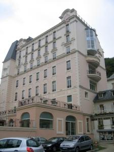 Façade de l'hôtel, Hôtel Princesse Flore de Royat