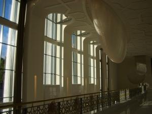 Habillage de fenêtres, Palais du Président, Tashkent (Ouzbekistan)