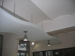 Plafond de l'Ecole Nationale Supérieure de Cachan (94)