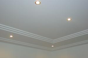 Détail d'un plafond Staff Décor de l'hôtel Ritz Carlton de Berlin