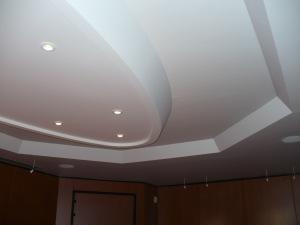 Ovale de plafond et profil périphérique, Bureau Dauphine 27 d'Ingre