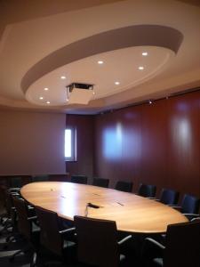 Ovale de plafond, vue d'ensemble, Bureau Dauphine 27 d'Ingre