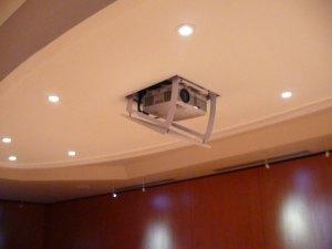 Trappe intégrée pour rétroprojecteur, Bureau Dauphine 27 d'Ingre