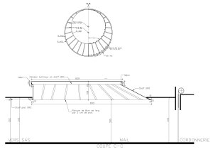 Grand modèle du skydome de l'Hyper U à Brie Comte Robert
