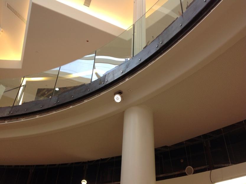 Centre commercial de la Toison d'Or, Dijon. Vue d'un profil après la rénovation.