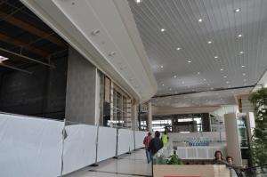 Le centre commercial Leclerc de Saint-Grégoire a ouvert ses portes au public en 2012.