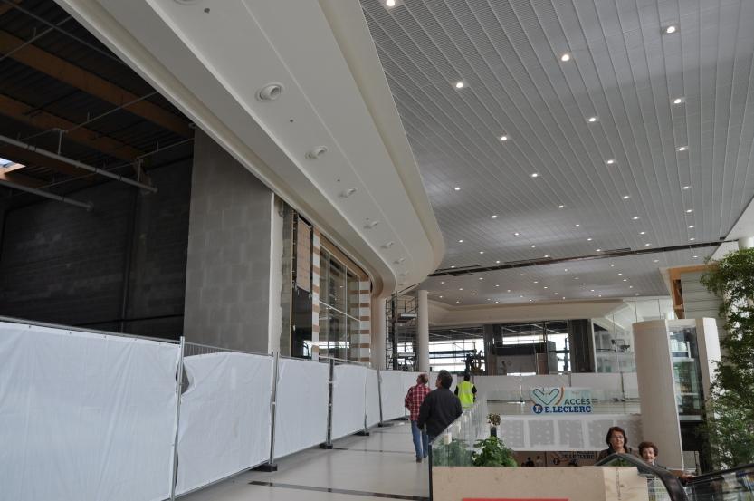 Le centre commercial Lerclerc de Saint-Grégoire a ouvert ses portes au public en 2012.