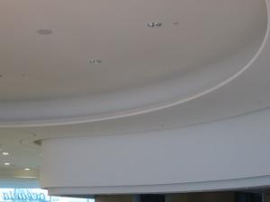 Profils concaves et profils convexes offrent à l'architecture de la galerie son volume et son sentiment d'espace !